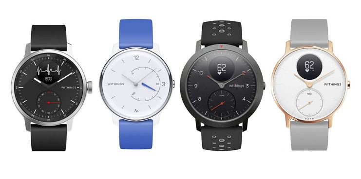 les meilleures montres connectees Withings