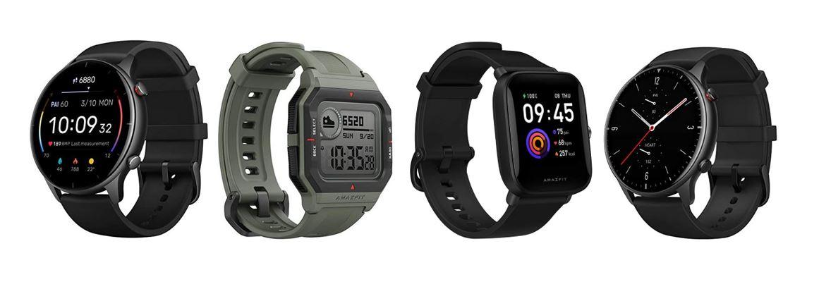 les meilleures montres connectees de la marque Amazfit