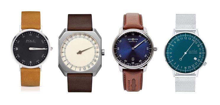 les meilleures montres mono aiguille pour homme