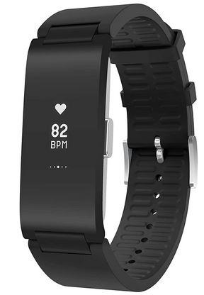 montre bracelet de sport connecte de la marque Withings entierement noir avec frequence cardiaque GPS mode multisport et autres fonctionnalites