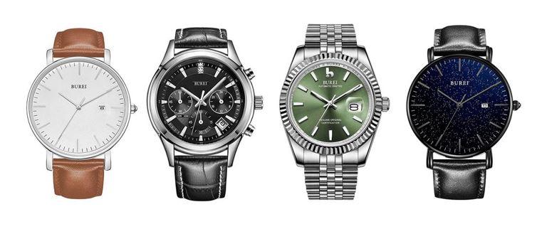 les meilleures montres Burei pour homme