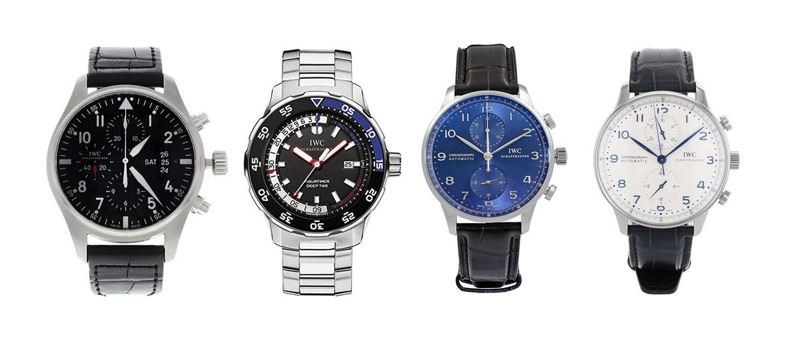 les meilleures montres IWC pour homme