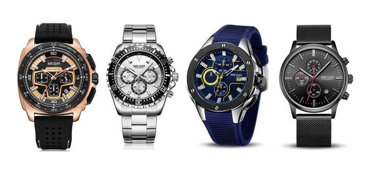 les meilleures montres Megir pour homme