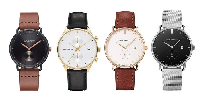 les meilleures montres Paul Hewitt pour homme