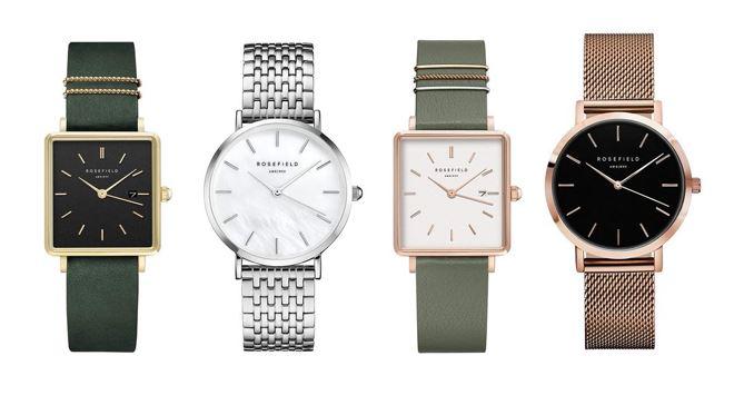 les meilleures montres Rosefield pour femme