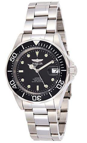 montre Invicta Pro Diver 8926 pour femme avec un cadran noir de 40mm de diametre