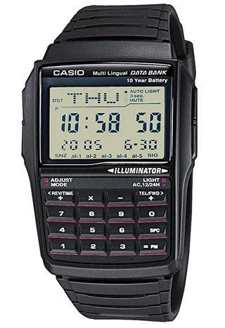 Casio DBC 32 1 AES montre calculatrice noire ideale pour enfant et adolescent
