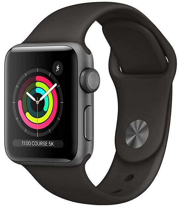 apple watch SE noir modele moins cher de la gamme
