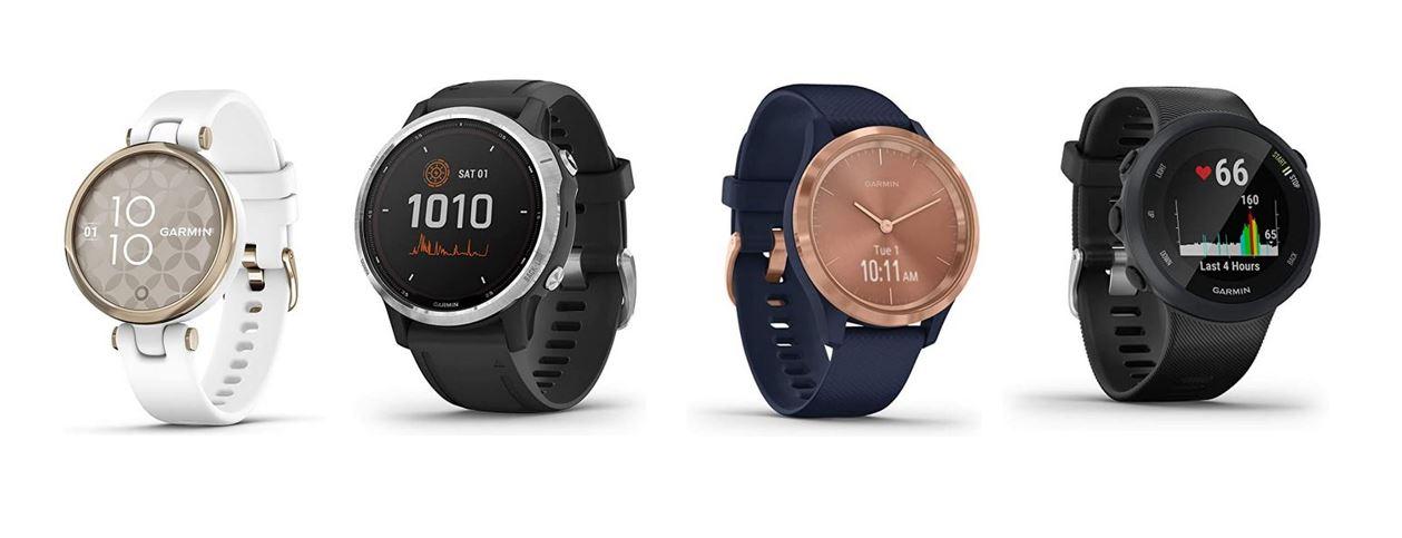 les meilleures montres Garmin