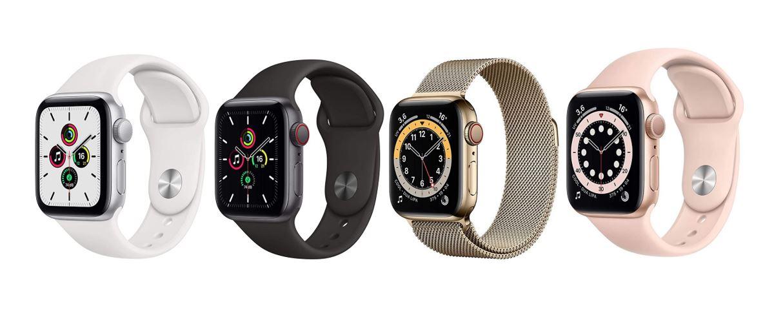 les meilleures montres connectees Apple Watch