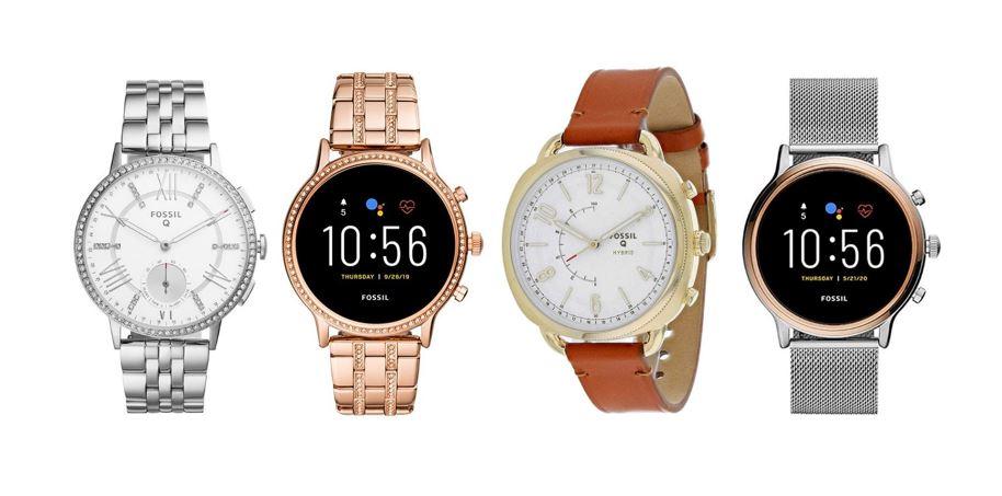 les meilleures montres connectees Fossil pour femme
