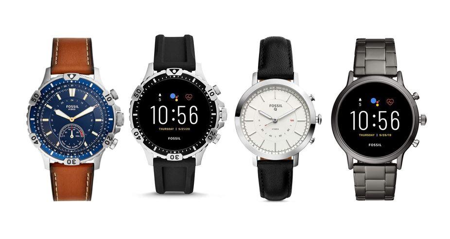 les meilleures montres connectees Fossil pour homme