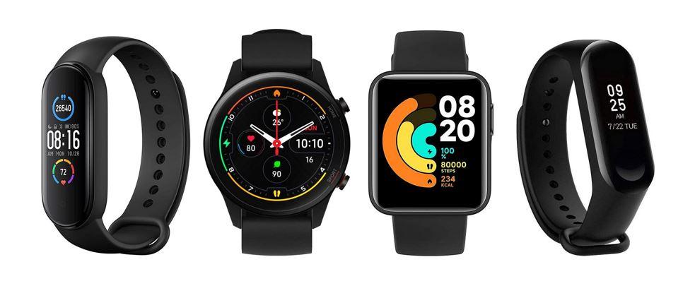 les meilleures montres connectees Xiaomi