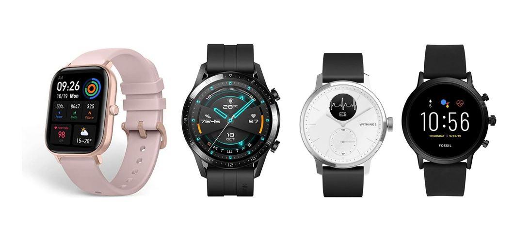 les meilleures montres connectees compatibles avec android