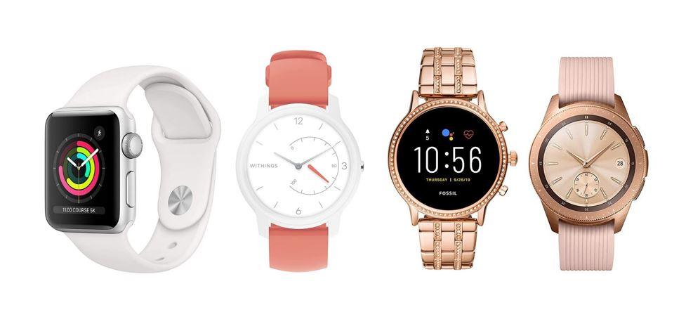 les meilleures montres connectees pas cher pour femme