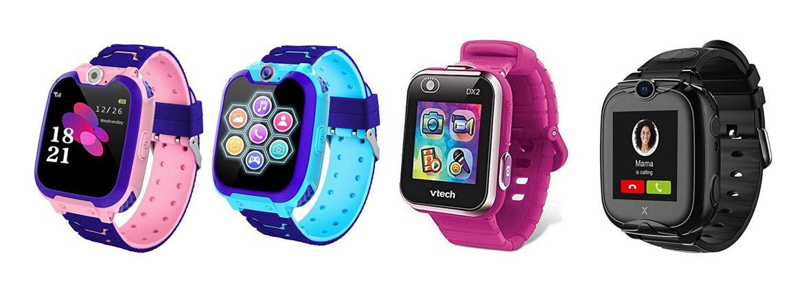 les meilleures montres connectees pour enfant