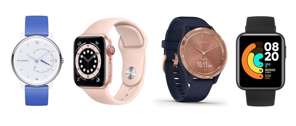 les meilleures montres connectees pour femme