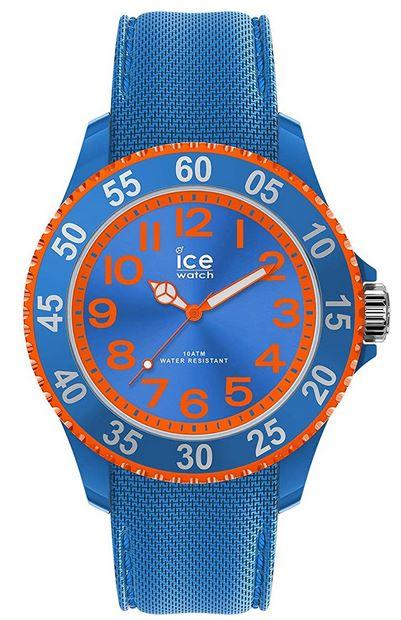 montre Ice Watch Ice Cartoon Superhero bleu et orange pour garcon