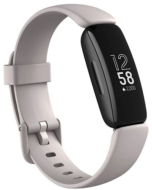 montre bracelet de sport connecte Fitbit Inspire 2 avec bracelet blanc tracker dactivite et mode sport