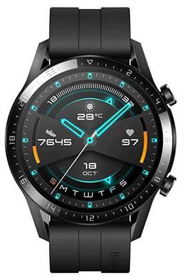 montre connectee Huawei Watch GT 2 avec cadran de 46mm pour les hommes smartwatch ideale pour faire du sport avec 15 modes dentrainement
