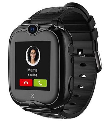 montre connectee Xplora Go noire sans carte Sim avec fonction appareil photo SOS localisation et podometre pour enfant