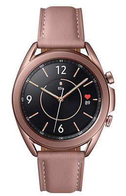 montre connectee pour femme de la marque Samsung modele Galaxy Watch 3 R850 avec cadran de 41mm