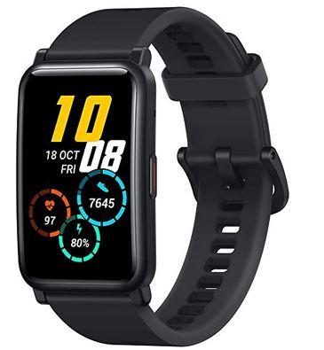 montre pas cher de la marque Honor Watch ES connectee pour homme avec ecran amoled fitness tracker et podometre