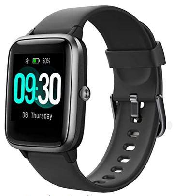 smartwatch Willful IP68 noir compatible avec la plupart des smartphones 11 modes de sports avec de nombreuses autres fonctionnalites