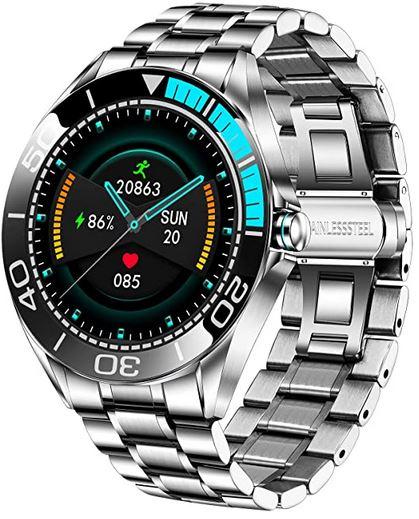 smartwatch a moins de cent euros pour homme de la marque Lige avec ecran tactile